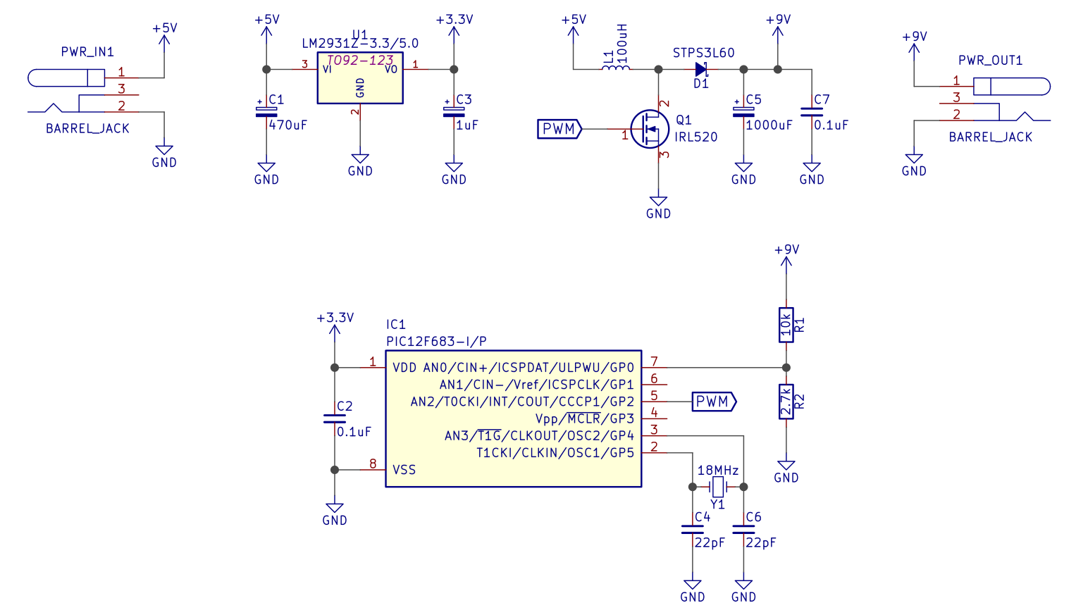 Schematic of Rev A